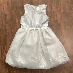 Gymboree Silver Polka Dot Dress